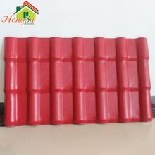 High Quality Selected imported raw materials Light Weight Synthetic Spanish Roof Tiles