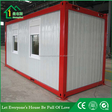 20ft used prefabricated flat pack mobile house for hotel