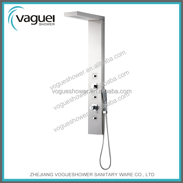 2015 Best Quality 304 Stainless Steel Shower Panel Faucet Mixer