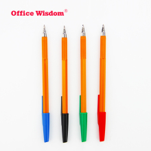cheap price stick ball pen, bic roller pen, logo pen in bulk selling