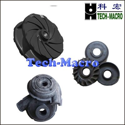S42 chloroprene rubber impeller,slurry pump replacement parts