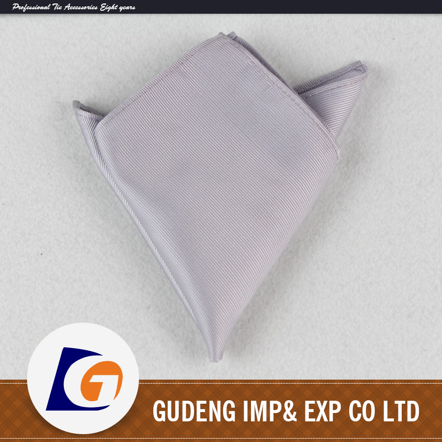 High quality Silk pocket square handkerchief with Mens