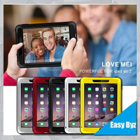 High quality powerful for iPad air, waterproof for iPad air 2 love mei case
