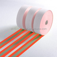 100% cotton silver flame retardant reflective fabric tape