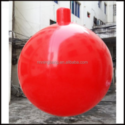 Free shipment diameter 2m inflatable PVC balloon,inflatable helium balloon