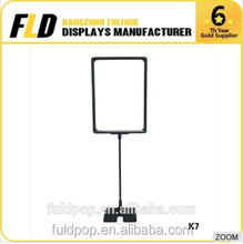 Worth buying China alibaba supplier POP sign frame stand used in supermarket and shops