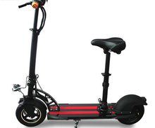new electric scooter 36v 350w folding escooters with detachable chair for adults