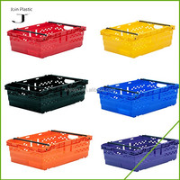 Large fruit plastic storage boxes