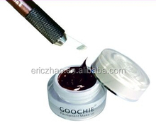 Wholesale semi paste permanent makeup pigment for eyebrow