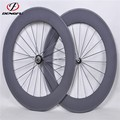 Tubular carbon road bike wheels 700c carbon wheelset 88mm height carbon bicycle wheels