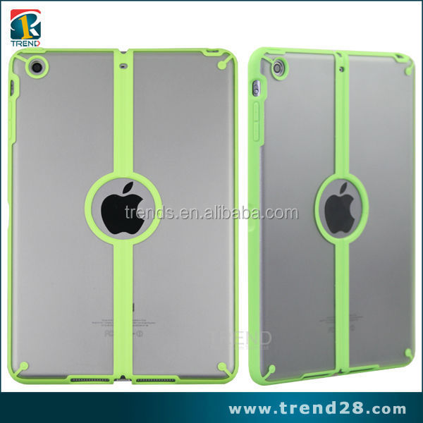 Wholesale price matte pc tpu hard case for ipad mini2 with stand