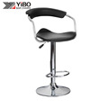 The Professional And Leading Manufacturer PVC Leather chair Bar Stool With Back Rest