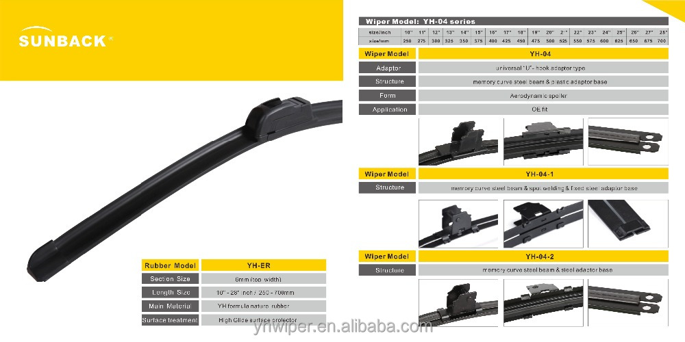 Universal windshield wiper blades Car Accessories