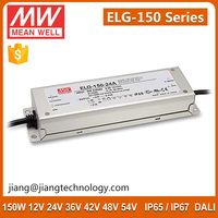 150W 24V 6.25A Constant Current Meanwell IP67 LED Power Supply ELG-150-24