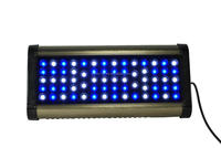 Auto-dimming & Remote Control programmable sunrise and sunset led aquarium light for marine fish tank