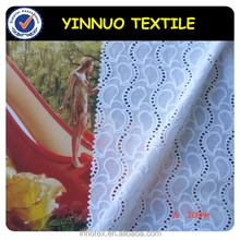 dress eyelet embroidery cotton fabric