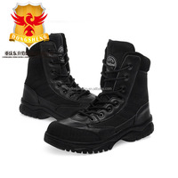 Bull rubber shoes head layer cowhide material army tactical footwear strong quality soldier favored boots military