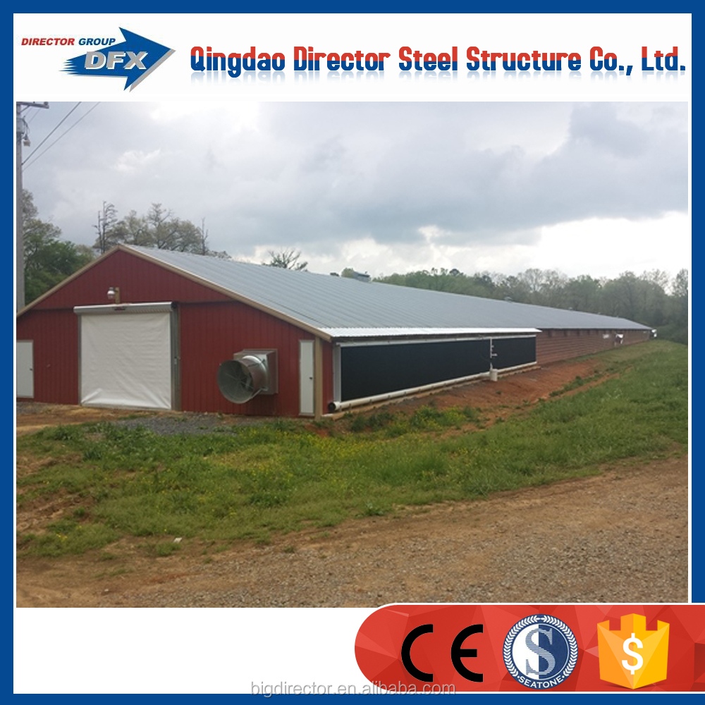 prefabricated poultry house roof for poultry house
