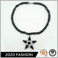 Latest design hot sale high quality eco-friendly boar tusk necklace