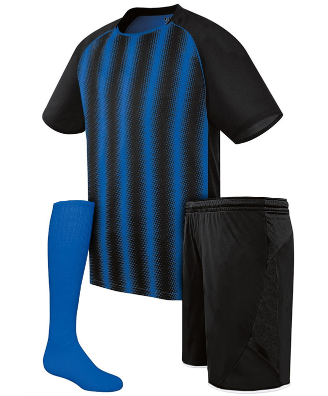 Quick Dry Fitness Compression Shirts Plain Soccer Jersey T-shirts Running Shorts Cheap Football Uniforms