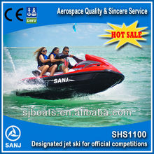 SANJ 1100cc 4 Stroke Engine jet engine powered motor boat wave boat jet ski price