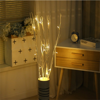 Top Sale Home Decoration Warm White Led Dried Willow Branches