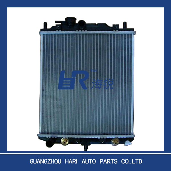 aluminum plastic car radiator for DAIHATSU MIRA L200/500/300EF'90-80 AT