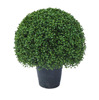 Good quality Outdoors UV Resistant Plastic Artificial Boxwood Topiary