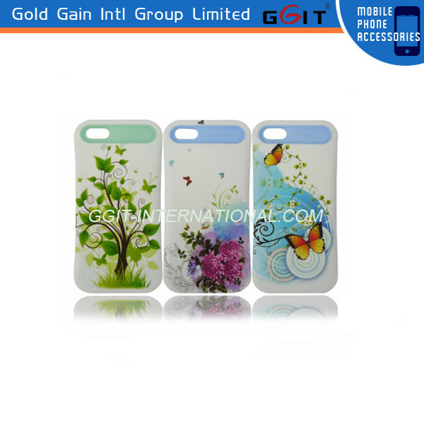 Colorful Water Printing Pencil Case For iPhone 3GS, For IPhone 3GS Hard PC Case