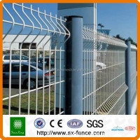 8*8 Powder coated color steel fence panels made in china