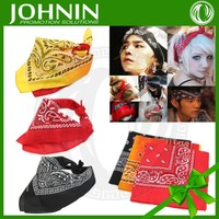 2015 hot sales high quality customized China professional factory sales head wraps bandanas