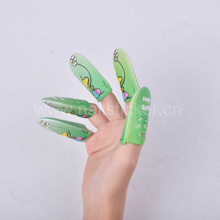 Free samples EVA foam fingers puppet high quality happy Easter holiday finger nail kids toys
