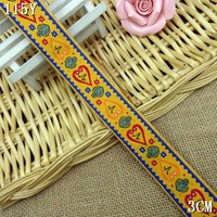 saree embroidery lace with 3cm width special designer DIY lace