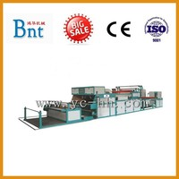 Spraying glue laminating machine for textiles,non-woven cltoh