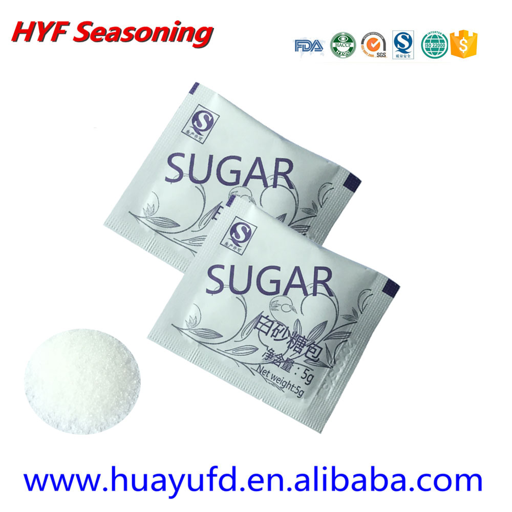 2017 Popular candy cane white brown sugar High quality sugar