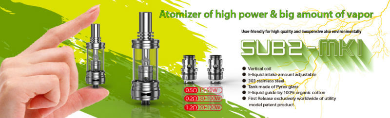 Modvapa stainless steel tank vaporizer with huge vapor,airflow control sub ohm tank atomizer wholesale
