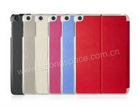 PU Leather Book Stand Case Smart Cover for Apple iPad Mini