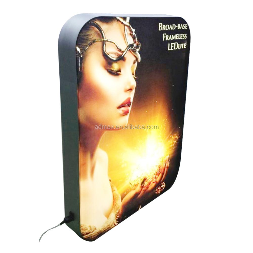 Frameless Backlit Fabric LED Light Box