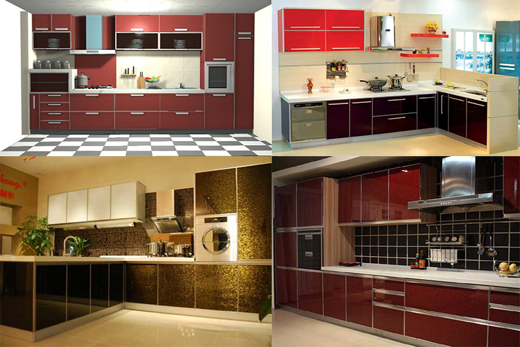 Bon Pvc Self Adhesive Wallpaper For Kitchen Cabinet Vinyl Wall Paper ...