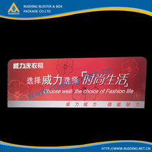 offset printed hard plastic advertising board