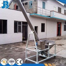 Automatic screw auger conveyor feeder for grain