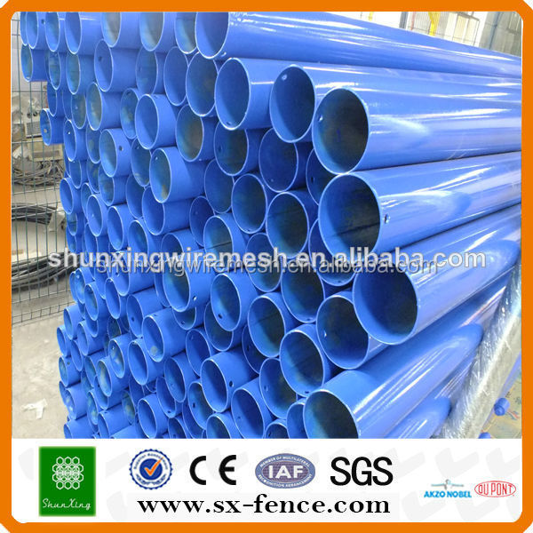 Powder coated fence posts fence pillars (factory from China )