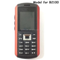 GSM 850/900/1800/1900 3G feature phone with water-proof and shock-resistant unlocked rugged cellphone B2100 Multi languages