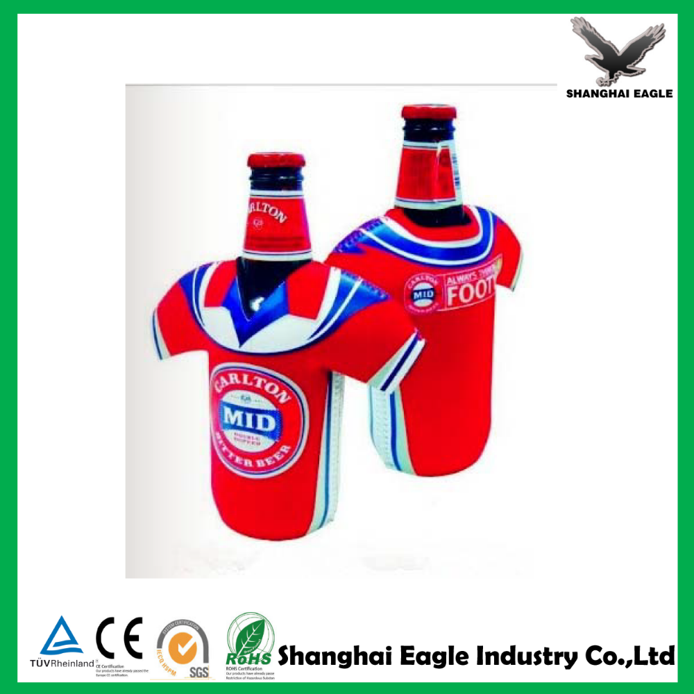 Promotional Neoprene beer bottle cooler sleeve