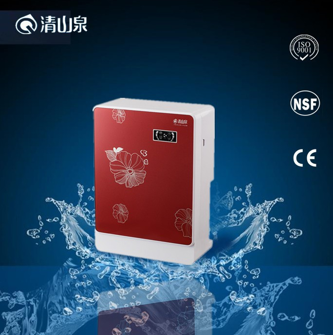 Plastic cover Housing Material and alkaline salt ro water purifier
