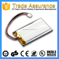 OEM Rechargeable Li-polymer Type 1S 2000mAh 3.7V Lipo Battery