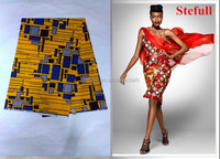 Stefull wax original hollandais wax new design ghana kente