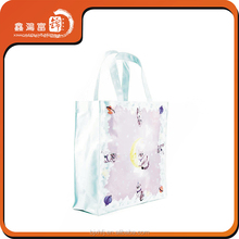 made in china all over print frosted pvc bags print cute little kitty