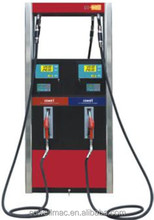 2-pump 2-flow meter 2-nozzle fuel dispenser used in petrol station
