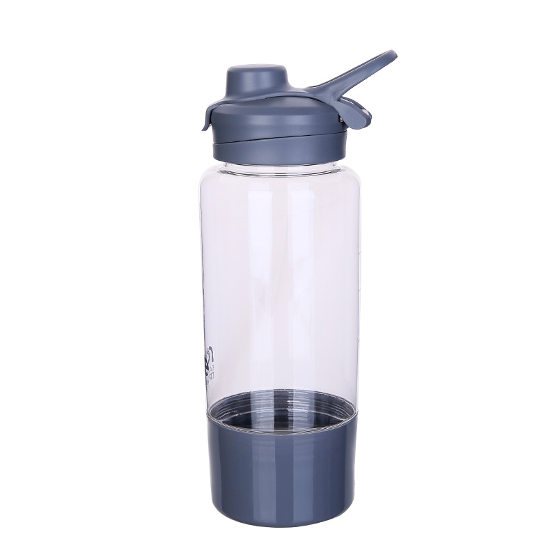 1 liter tritan sports water bottle with bottom opening bpa free plastic container bottle